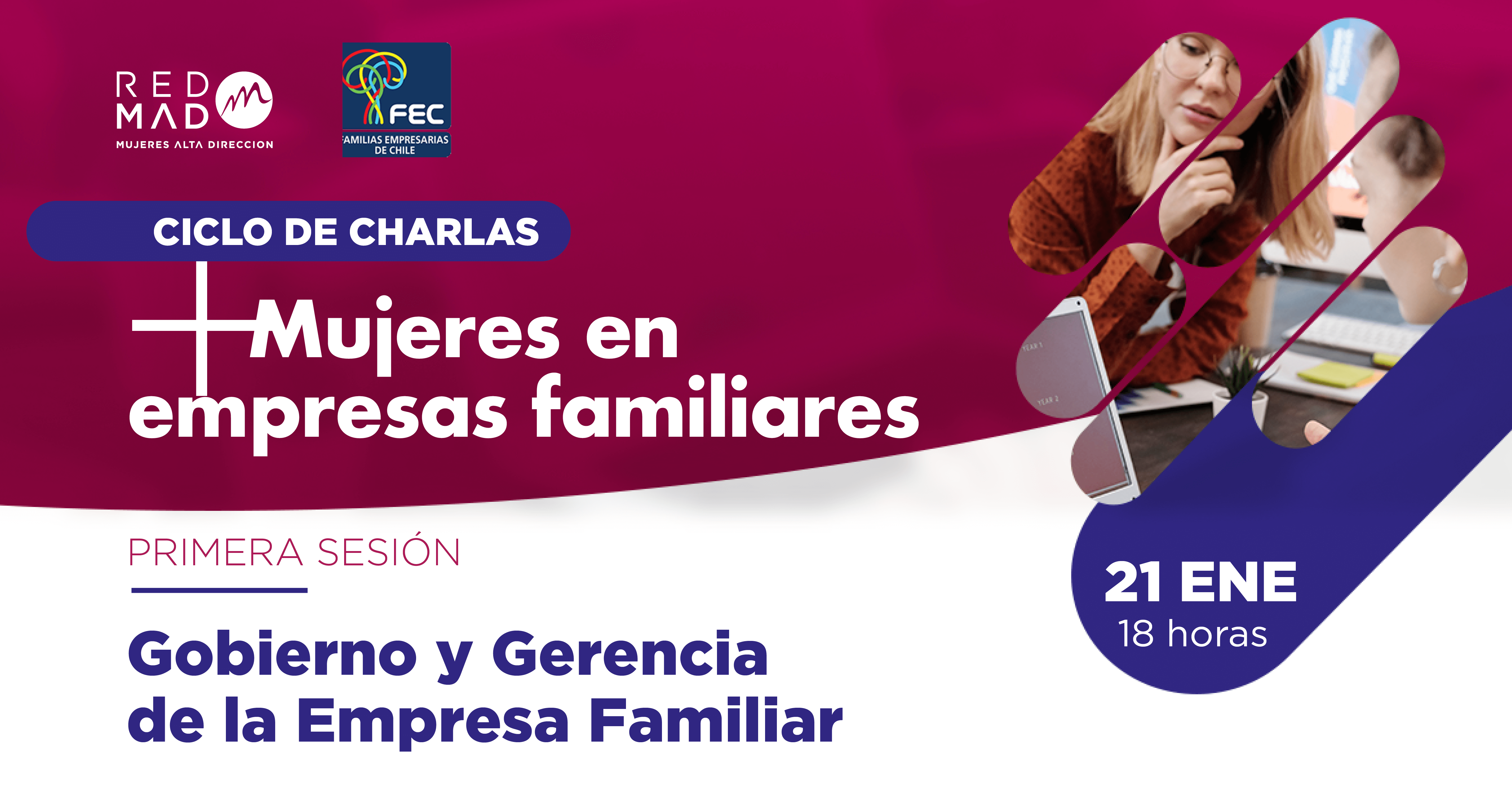 """+ Mujeres en empresas familiares: """"Gobierno y Gerencia de la Empresa Familiar"""""""